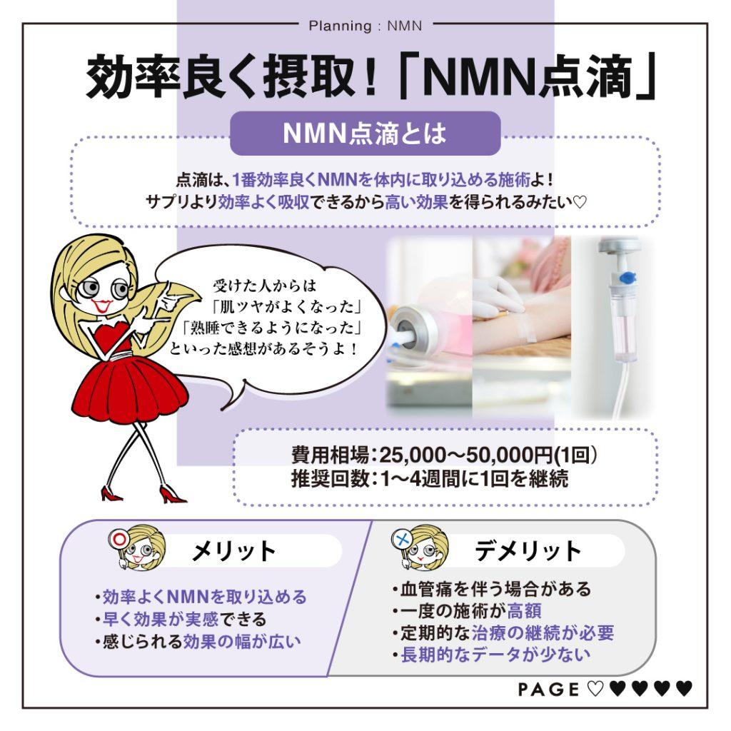 NMN点滴メリットデメリット