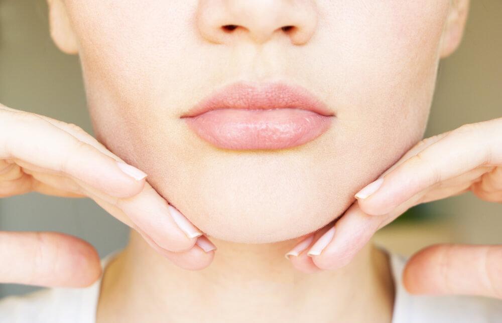 顎のしわができる原因は5つ