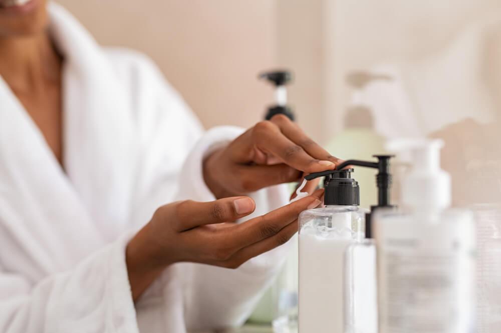 毛嚢炎と診断されたらスキンケアはどうする?