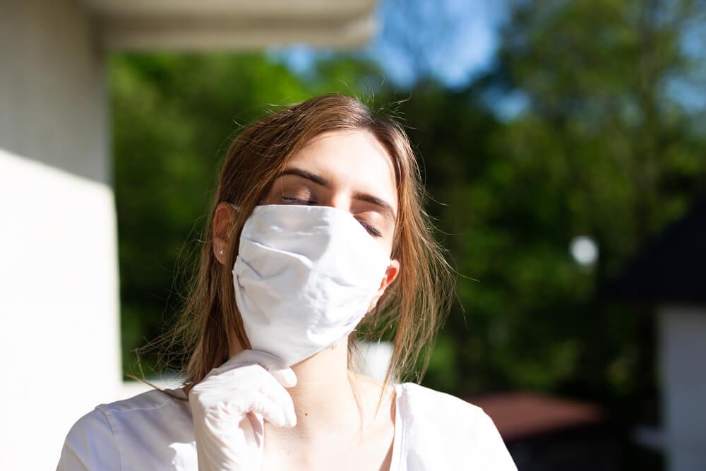 マスク日焼けにご注意!今年は紫外線対策を万全に!!