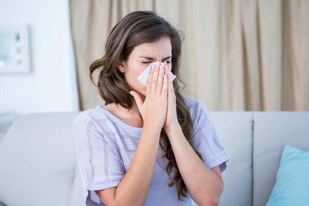 花粉症,肌荒れ